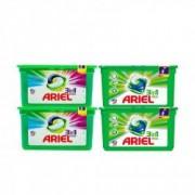 Pachet 2x Detergent capsule Ariel 3in1 pods Mountain Spring 39 spalari + 2x Detergent capsule Ariel 3in1 pods Color 39 spalari