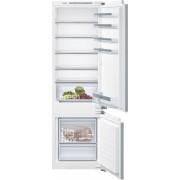 Siemens iQ300 KI87VVF30G Static Integrated Fridge Freezer - White