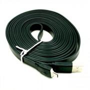 Platt Micro-USB kabel X-Lång