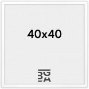 Exklusiv Vit 40x40 cm