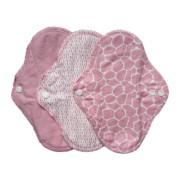 ImseVimse Full Cycle Kit - wasbaar maandverband en inlegkruisjes (Kleur: Blossom / Bloesem (roze))