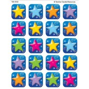 Teacher Created Resources Colorful Stars Stickers, Multi Color (5742)