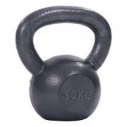 Sport-Thieme Kettlebell Hamerslag, geschilderd, grijs, 10 kg