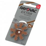 Baterii Rayovac 312ZA auditive 7+1 PROMO