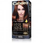 CAMELEO - Dugotrajna boja za kosu sa 5 Omega+ Ulja 7.46