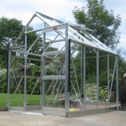 Elite Greenhouses High Eave 6 x 8 Greenhouse Package
