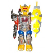 Beat Magnum Robotic Moving & Hitting Luffing Robot with Light Sound Music Great Toys for Kids 3XAA Batteries Not Included