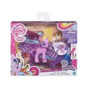 My Little Pony - Poupée - Poney Twilight Sparkle Ailes Magiques - Cheveux Long