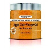 FABEYA BioCare Natural Organic Apple Cider Vinegar Gel No Parabens and Sulphates 340 ml Pack of 1