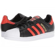 Adidas Originals Superstar BlackBold OrangeWhite