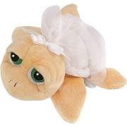 Suki Gifts Li'L Peepers Turtles Bride Turtle Soft Boa Plush Toy with Tuile Frill (Small, White)