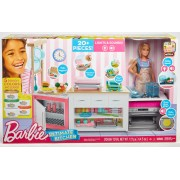 BARBIE® DOLL AND THE ULTIMATE KITCHEN PLAYSET - MATTEL (FRH73)