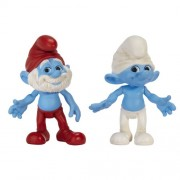 Smurfs Movie Basic Figure Pack Wave #1 Papa And Clumsy Smurf