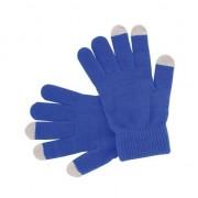 Merkloos Touchscreen handschoenen blauw