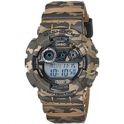 G-Shock Digital Brown Dial Mens Watch - Gd-120Cm-5Dr(G513)
