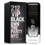 212 Vip Black Men Carolina Herrera Eau de Parfum 100 ml