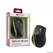 Mouse, CANYON CNR-MSO01NG, Black/Green