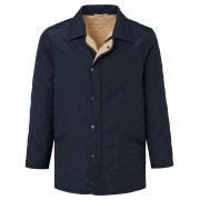 Lodenfrey Heren Gewatteerde jas in recht model Van Lodenfrey blauw