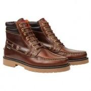 Snipe mocassin-boots, 41 - bruin
