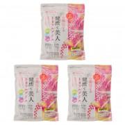 奈美悦子の国内産23種雑穀トリプルプラス 3袋セット【QVC】40代・50代レディースファッション