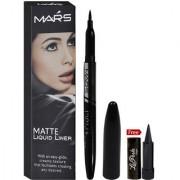 Mars Matte Liquid Eyeliner SE3 With Free LaPerla kajal