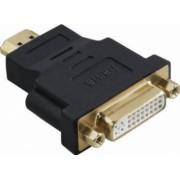 Adaptor Hama compact HDMI DVI Negru 34036