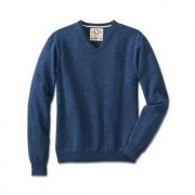 Alan Paine Denim-Pullover, 56 - Jeansblau