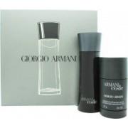 Giorgio Armani Code Giftset 75ml EDT + 75g Dedorant Stick