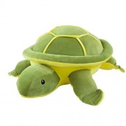 Outgeek Throw Pillow Toy Cute Cartoon Sea Turtle Toy Cushion Plush Stuffed Pillow Toy