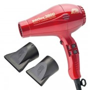 Parlux 3800 Eco Friendly Ionic & Ceramic Edition Rot