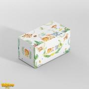 Cutie cu animăluţe pentru plicuri de dar - Safari