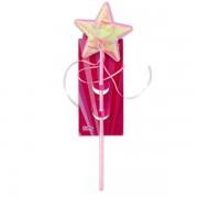Csillag formájú varázspálca - rózsaszín