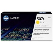 HP 507A Yellow LaserJet Toner Cartridge (CE402A)