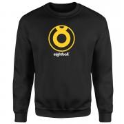 Ei8htball Yellow Logo Sweatshirt - Black - M - Black