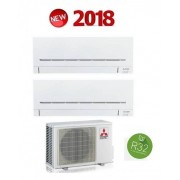 Mitsubishi Electric Kit Dual Serie Plus Mxz-2f53vf + Msz-Ap20vf + Msz-Ap50vg 7+18 (Gas R-32)