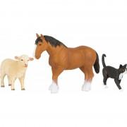 Set 3 figurine Animale de la Ferma Small Foot, 3 ani+