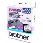 Banda continua laminata Brother TX141, 18mm, 15m