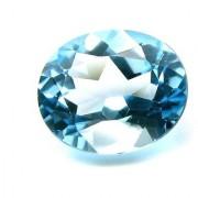 8.85 Ratti IGL Certified Blue Topaz Nice Oval cut - Ceylon Sapphire