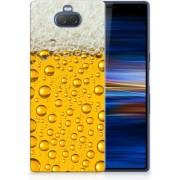 Sony Xperia 10 Plus Uniek TPU Hoesje Bier