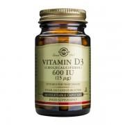 Vitamina D3 600 UI (Colecalciferol) 15 mcg 60cps SOLGAR