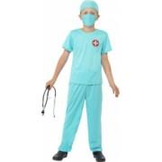 Costum de carnaval de doctor chirurg pentru copii 10-12 ani