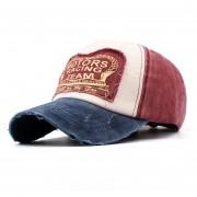 Gorra de béisbol de algodón de verano estilo coreano letras de parche clásico gorra de béisbol gorra de protección solar gorra de hip hop para Sombrero LANG(#3)