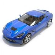2014 Chevy Corvette Stingray 1:18 Scale (Metallic Blue)