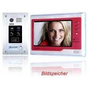 Anykam DT596FID+692SD-rot Video Türsprechanlage ID Klingelanlage Zutrittskarte Speicher