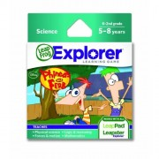 Toy / Game LeapFrog Explorer Learning Game: Disney Phineas and Ferb - Teaches physical science and more