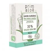 Prim aloé Savon Surgras 30 % Aloe Vera 100 g - Peaux sèches et sensibles