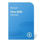 Microsoft Visio 2016 Standard (D86-05549) elektronikus tanúsítvány