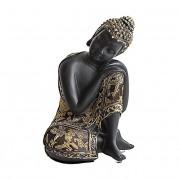 Dierenurn Slapende Indische Buddha (0.7 liter)