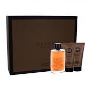 Gucci Guilty Absolute Pour Homme confezione regalo Eau de Parfum 50 ml + balsamo dopobarba 50 ml + doccia gel 50 ml uomo
