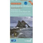 Fietskaart NCN Aberdeen to Shetland Cycle Route Map | Sustrans